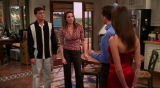 Two and a Half Men 01x19 : I Remember the Coatroom, I Just Don't Remember You- Seriesaddict